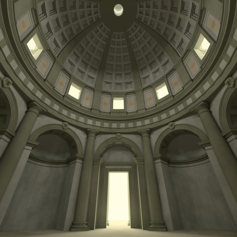 San Giovanni dei Fiorentini, Raffaello, Cupola