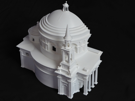 San Giovanni dei Fiorentini, Raffaello, 3D printing