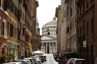 San Giovanni dei Fior entini, Raffaello,Via Paola